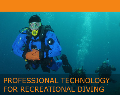 Professional technology for recreational diving